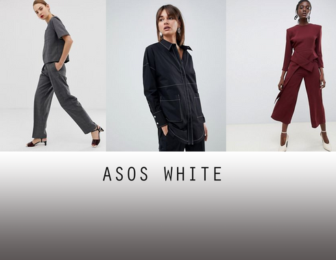 The target market for ASOS White can be summed up by many of the young women who can be found raving about it online. They are in their early twenties to late thirties and have professional careers often in creative fields, such as advertising agencies, fashion magazines or graphic design firms, and looking fashionable for work is almost as important as looking appropriate. They live in big cities, perhaps London, L.A., Chicago or New York and are progressive and highly involved in social media. They enjoy wine, expensive coffees and have trendy exercise classes, but still rely on public transportation to get around. Their high cost of living doesn't allow them to buy as much designer clothing as they would like and they love the sophisticated, functional pieces that they can afford from ASOS White.