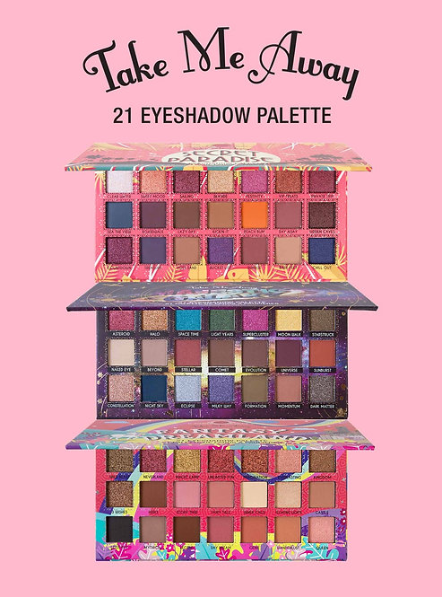 JCat Take Me Away Eyeshadow Palette