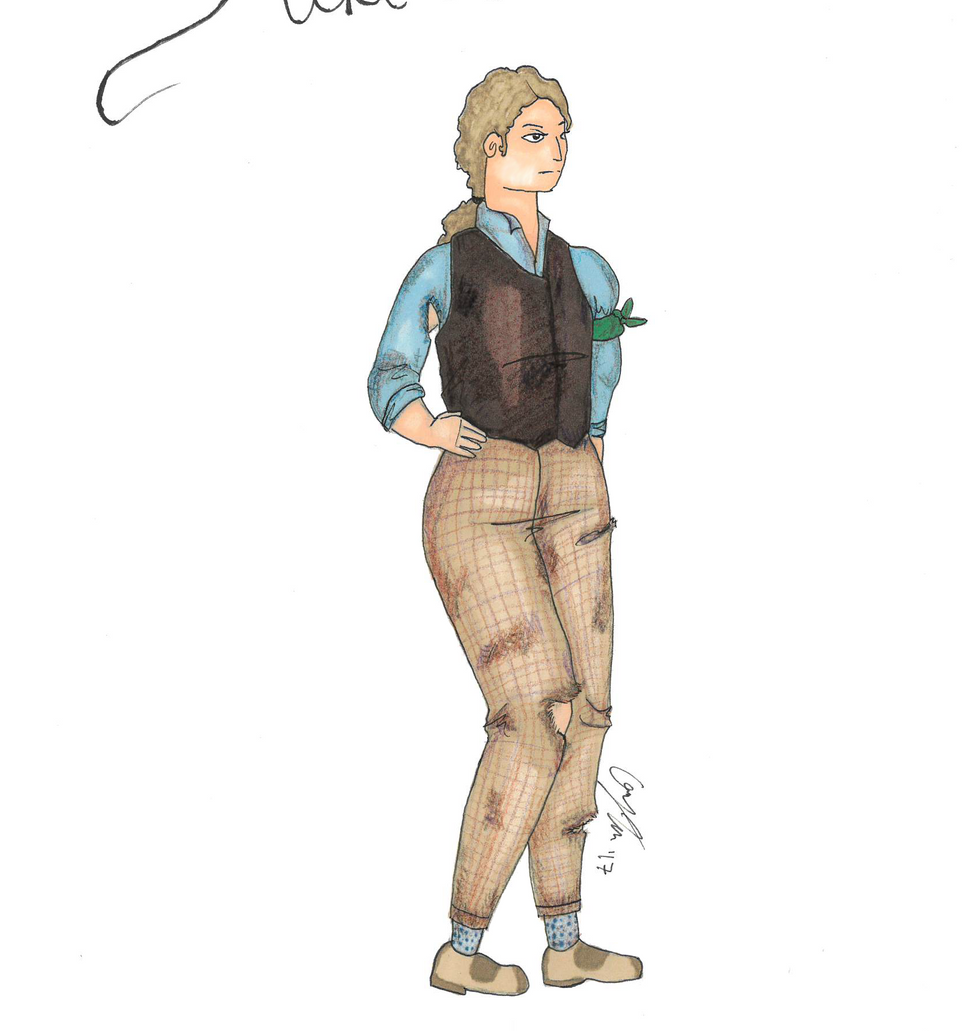 "Rendering of Jacques from ""As You Like It"""