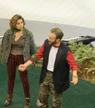 Actors: Clarice Sigsworth, Brian Mullins Photographer: Benita VanWinkle