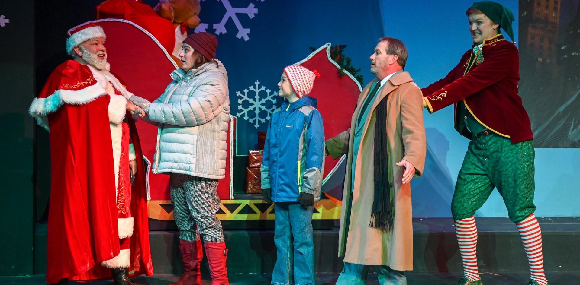 Santa: Daryl Berry Emily: Kat Fresh Michael: Trey Rolston Walter: Chris Carroll Buddy: Colby Padgett