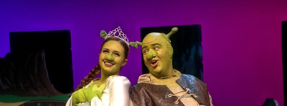 Fiona: Elaina Osburn Shrek: Ty Hebbert
