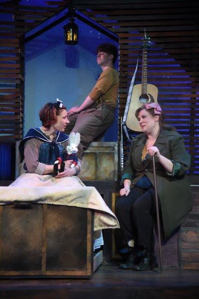 Pellegrina tells Abilene a story
