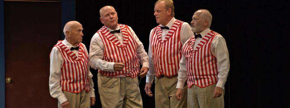Quartet: Dan Clark, Ron Swank, Rod Businga, Jim Schmucker