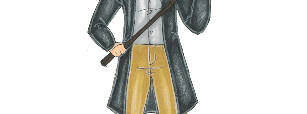 """Rendering of Duke Frederick from """"As You Like It"""""""