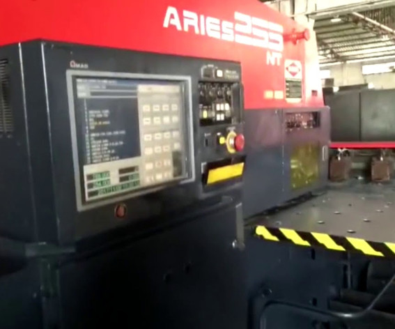 CNC AMADA TURRET PUNCH aries 255