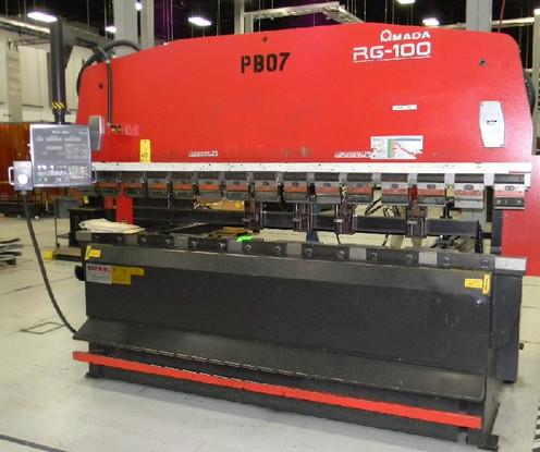 NC AMADA BENDING MACHINE RG-100