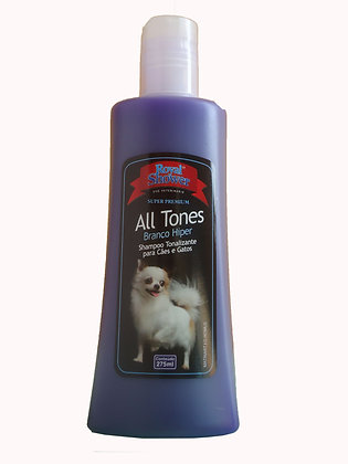 Shampoo tonalizante  ALL TONES - Branco Hiper 275 ml - Clareador