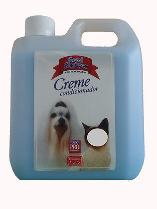 Creme Condicionador Cães Platinum efeito liso1 litro