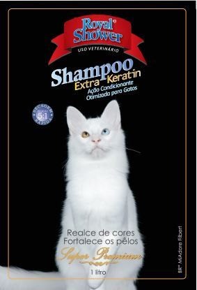 Shampoo Extra Keratin otimizado gatos- 1 litro