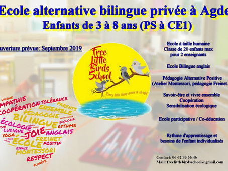École alternative bilingue privée Agde