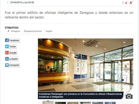 El Centro Empresarial de Aragón renueva sus oficinas en alquiler