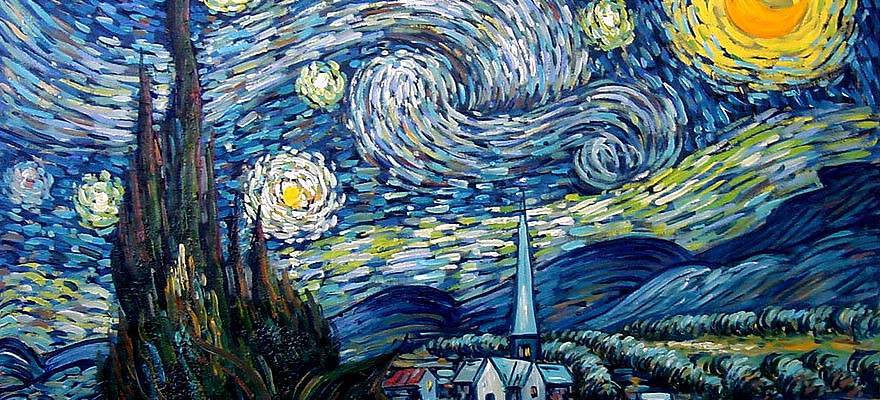 starry night aleksandr brusentsev