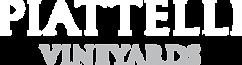 Piattelli Vineyards Logo White
