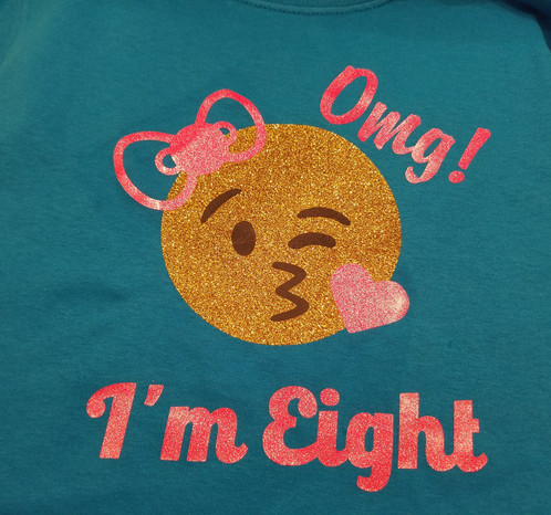 OMG Emoji Birthday T Shirt