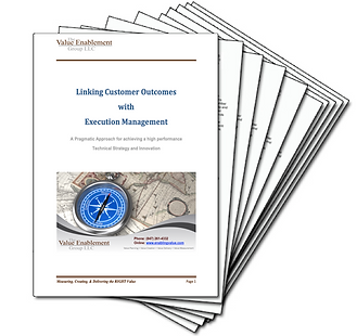 Linking Customer Outcomes with Execution