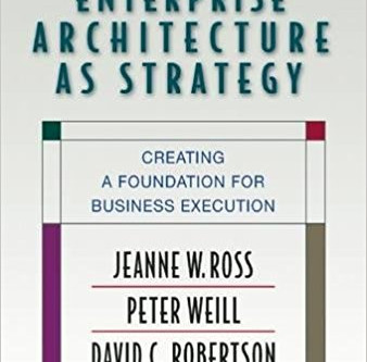 Book Review: Enterprise Architecture as a Strategy