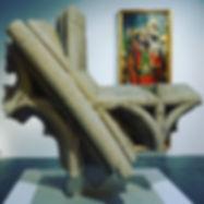 Sculpture mount for Sam Fogg Ltd