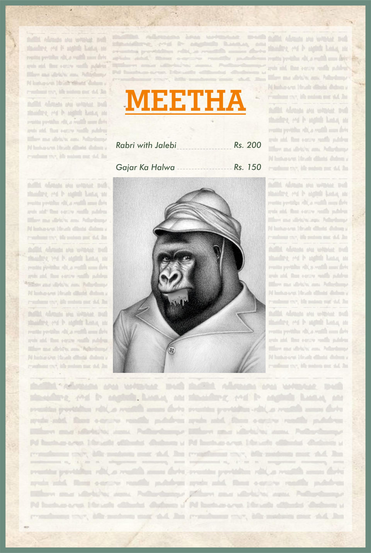 Menu Design- Sweets