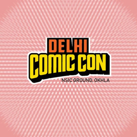 Motion Graphic Design for Comic Con Invite