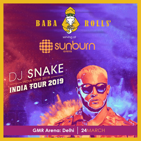 Invite/Poster Design for Sunburn Fest