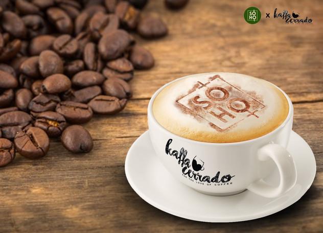 Creative designed for Soho x Kaffa Cerado