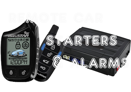 Remote Car Starters and Alarms
