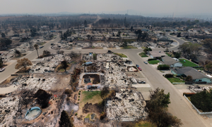 The Carr Fire Drone Video Photo