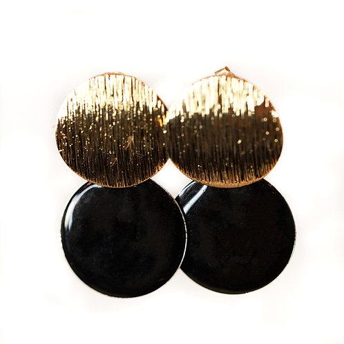 Boucles Macaron noires