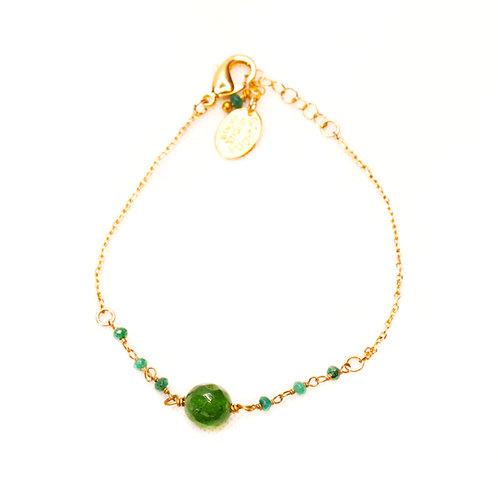 Bracelet Nuna vert