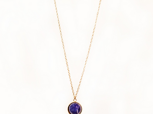 Collier Christina lapis lazuli