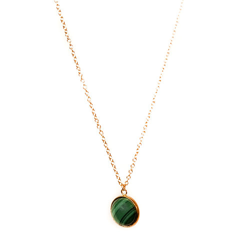 Collier Christina malachite