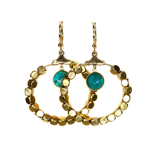 Boucles Green gold