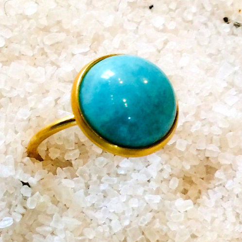 Bague Christina amazonite