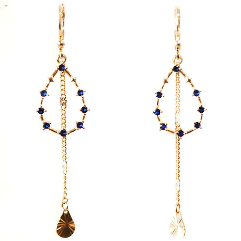Boucles Blue Vegas