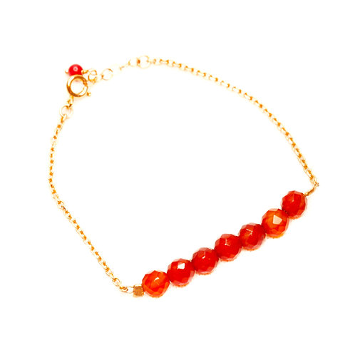 Bracelet Andrea cornaline