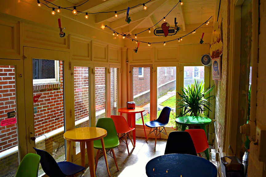 Sun Room Seating Area