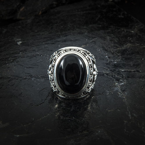 RING LILIE ONYX