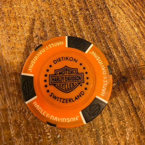 POKERCHIP ORANGE