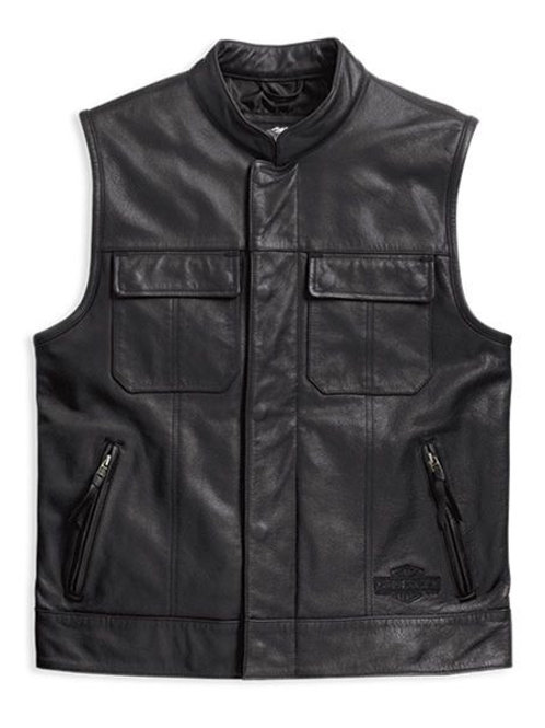 HD FOSTER LEATHER VEST