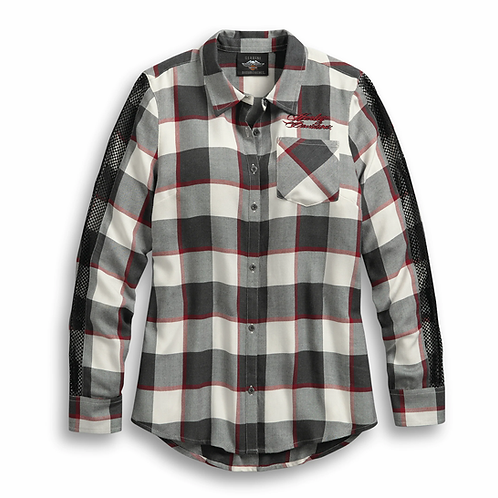 WOVEN SHIRT WINGED
