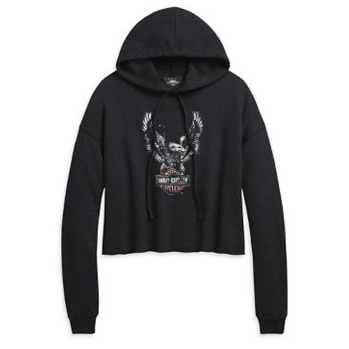 Hoodie Knit Black 96502-20VW