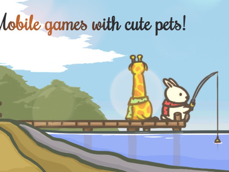 Games Involving Cute Animals That You (And Your Children) Can Play On Your Mobile Devices!