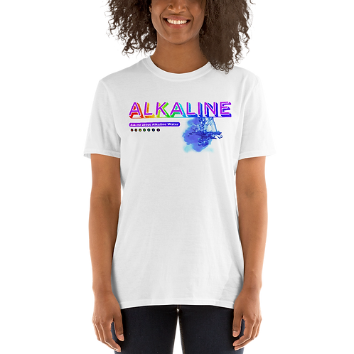 Alkaline Water Ask Me Series 02 Short-Sleeve Unisex T-Shirt
