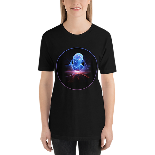 Brain-Man-Cosmos-Short-Sleeve Unisex T-Shirt