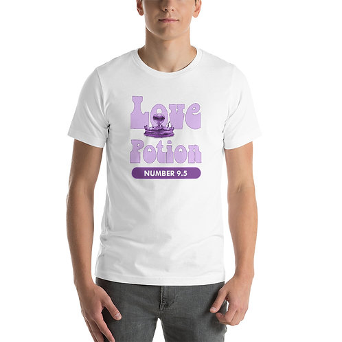 Alkaline Water Love Potion Number 9.5 Short-Sleeve Unisex T-Shirt