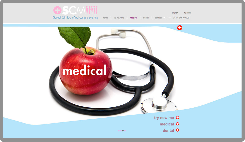 custom-web-development-scm-medical-clinic-medical-serro-design