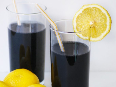 Charcoal & French Clay Detox Lemonade
