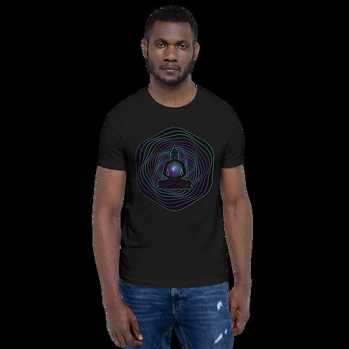 Buddha Cosmic Wave Chakra Short-Sleeve Unisex T-Shirt
