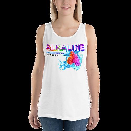 Alkaline Water Ask Me Series 04 Unisex Tank Top